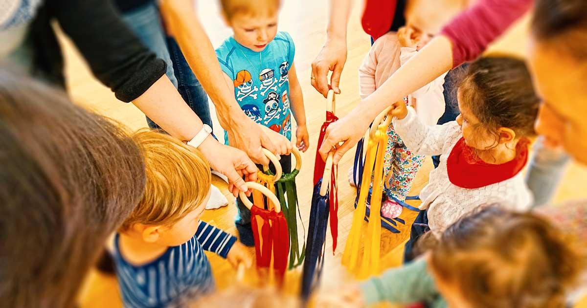 Eltern-Kind-Musikgruppe für Familien mit Kinder von 0 bis 5 Jahren